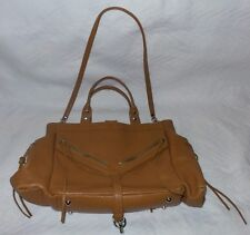 BOTKIER TRIGGER TAN Leather Satchel Hand Bag Purse