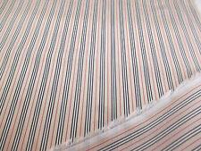 10 METRI d'Oro a Righe Viscosa ITALIANO Giacca, Suit, Vestito fodera in tessuto.