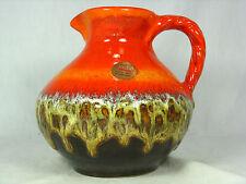 "70´s design JASBA "" Bunte Welt der Keramik"" pottery Keramik vase  N 902 12 15"