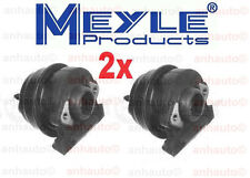 Set of 2 Meyle Brand Motor Mounts for Porsche 924 944 968
