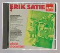 ERIK SATIE, EMI Classics # 4, Ciccolini, CD, EMI 1987, Zustand 1-2