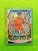 KILLIAN HAYES SILVER PRIZM CRUSADE ROOKIE CARD JERSEY #3 FRANCE RC PISTONS  2020