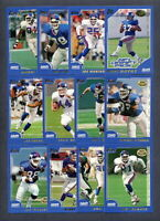 2000 Topps Collection Football New York Giants TEAM SET