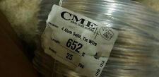CME # 4 Aluminum Solid Tie Wire 652 ft 25 lbs