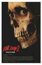 THE EVIL DEAD 2 ~ 25x38 ~ MOVIE POSTER ~ Bruce Campbell ~ Sam Raimi ~ Zombie