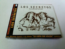 "LOS SECRETOS ""LA CALLE DEL OLVIDO"" CD 14 TRACKS PRECINTADO SEALED"