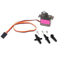 1pcs 90S micro metal gear 9g servo for RC plane helicopter boat car 4.8V 6V BHCA