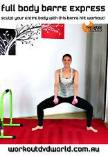 Cardio Toning Barre EXERCISE DVD - Barlates Body Blitz FULL BODY BARRE EXPRESS!