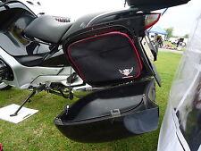 Bmw R1200rt Alforja Forro Bolsas ampliable en Rojo Y Color Negro
