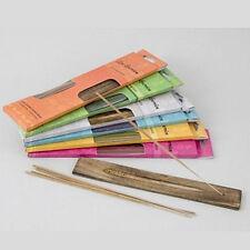 20 bâtonnets d'encens avec support Aroma Scents Jardin Zen Parfum Burning nouveau