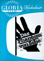Das Phantom von Soho Gloria Dieter Borsche Barbara Rütting Bryan Edgar Wallace