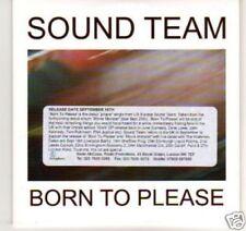 (C234) Sound Team, Born To Please - DJ CD
