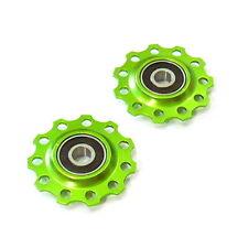 gobike88 MR. CONTROL PUL-10 Jockey wheel / Pulley, 11T, Green, B17