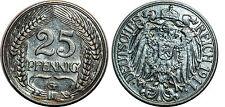 Allemagne 25 PFENNIG  1911 G