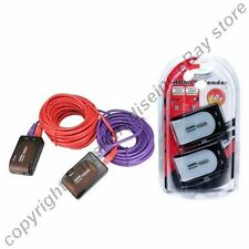 HDMI long Extender/Extension Cord over/for Cat5e/6 cable/wire 1080p v1.3 HDTV/TV
