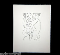 Pablo PICASSO LITHOGRAPH LTD ed. #126 ARCHES + Cat. Ref. c148* +Custom FRAME