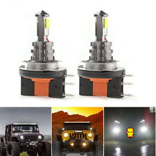 1800 LM CREE LED H15 Bulbs For Daytime Running Lights VW DRL GTI Jetta Lamps