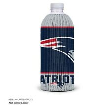 New England Patriots Fabric Bottle Cooler NFL Football Knit