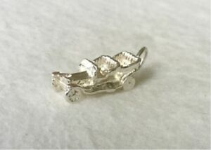 Vintage MOTOR CAR - traditional 925 sterling silver charm pendant