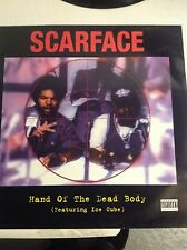 "scareface ft ice cube hand of the dead body 12"" vinyl"