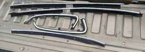 1990 Oldsmobile Cutlass Ciera Window Trim Chrome Left and Right 1991