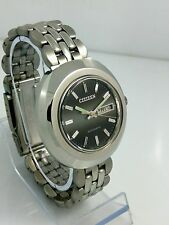 NOS Citizen vintage automatic grey dial watch new old stock, MINT 80's stock