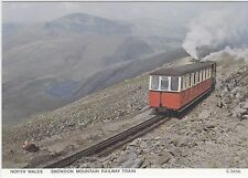 WALES               Snowdon Mountain Railway rack train