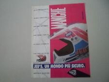 advertising Pubblicità 1991 CASCO HELMET JEB'S MANCHE
