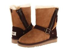 UGG AUSTRALIA SHORT BLAISE BOOTS CHESTNUT Size 5 Youth Fits WOMENS Size 7 NEW