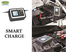 Anillo De 12v 12a hasta 5.0 L coche van inteligente & Smart Cargador De Batería Tester rsc612