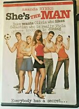DVD  She's The Man with Amanda Bynes.