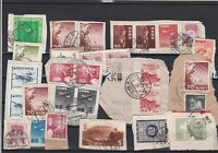 Asia Stamps on Piece ref R 19400