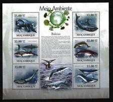 Mozambique 2010 baleines feuillet n° 2872 à 2877 neuf ** 1er choix