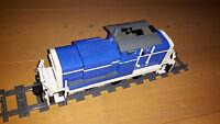 Lego Eisenbahn Bauanleitung V60 - Entkuppelungssystem PF Train Istruction Moc