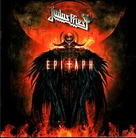 JUDAS PRIEST 2010 EPITAPH TOUR CONCERT PROGRAM BOOK BOOKLET / NEAR MINT 2 MINT