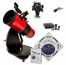Deluxe Astroscan® Millennium Dobsonian Reflector Portable Azimuth Telescope Kit