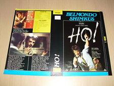 JAQUETTE VHS Ho ! Jean-Paul Belmondo
