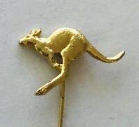 Australian Kangaroo Souvenir Stick Pin Badge Vintage (A4)