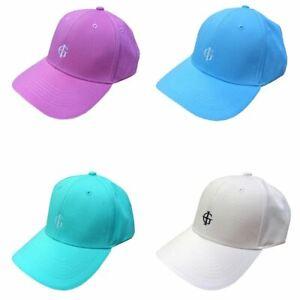 Island Green Ladies Cotton Curved Peak Adjustable Baseball Outdoor Golf Cap Hat