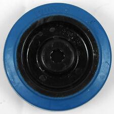 """Rueda neumático de goma elásticas azul (100MM/4"""")"""