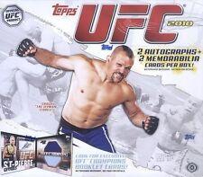 2010 Topps UFC Round 4 Hobby Box