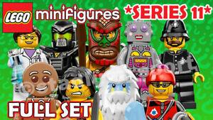 LEGO Minifigures: Series 11 [71002] *2013-RETIRED* COMPLETE FULL SET