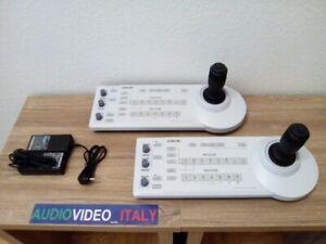 1x SONY RM BR300 Joystick  VISCA CONTROLLER x EVI BRC SRG PTZ STREAMING Cameras