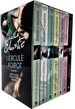 Agatha Christie Hercule Poirot Classic Mysteries 7 Books Collection Box Set Pack