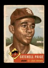 1953 Topps Set Break #220 Satchell Paige LOW GRADE (crease) *GMCARDS*