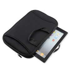 "Black Neoprene Tablet Sleeve Carry Case Bag for 9.7"" Samsung Galaxy Tab S3/ iPad"