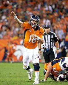 PEYTON MANNING 8X10 PHOTO DENVER BRONCOS FOOTBALL PICTURE NFL