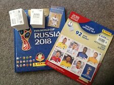 PANINI WORLD CUP RUSSIA 2018 FULL SET OF 682 STICKERS + HARDBACK ALBUM + EXTRAS