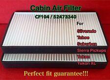 C15388 Cabin Air Filter for 99-02 Silverado Sierra Pickups 00-02 Tahoe Yukon