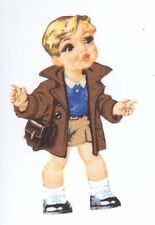 Patch Thermocollant en tissu Garçon Poupée veste Iron-on patch Paper Doll
